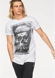Удлиненная футболка JOHN DEVIN