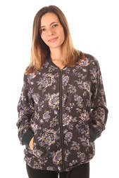 Бомбер женский Billabong Tropicale Jacket Black Floral