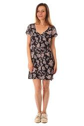 Платье женское Billabong Festival Dreams Black Floral