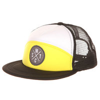 Бейсболка с сеткой Mystic Flip Cap Bright Yellow