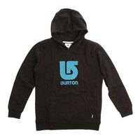 Толстовка кенгуру детская Burton Logo Vert Po True Black