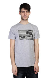 Футболка Nixon Pool Photo Tee Heather Gray