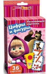 Карточки Маша и Медведь Маша и Медведь