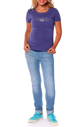 Блуза-футболка для кормления Мамуля Красотуля
