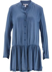 Блузка с баской (кленово-красный) Bonprix