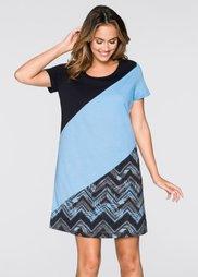 Ночная рубашка (черный/нежно-голубой/серый с у) Bonprix