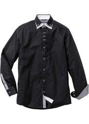 Деловая рубашка Regular Fit (белый) Bonprix
