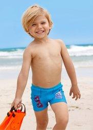 Купальные шорты для мальчиков (бирюзовый) Bonprix