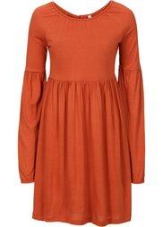 Трикотажное платье (шафранно-желтый) Bonprix