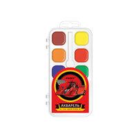 """Краски акварельные медовые """"Racing"""", 10 цветов Proff"""