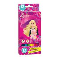 Цветные карандаши, 12 цв., Barbie Limpopo