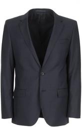 Шерстяной костюм с узором microcheck HUGO BOSS Black Label
