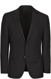 Шерстяной приталенный костюм HUGO BOSS Black Label