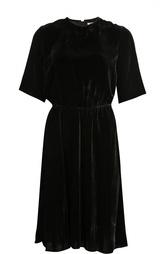 Бархатное приталенное платье с укороченным рукавом Isabel Marant Etoile