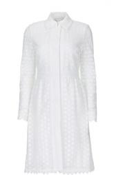 Приталенное кружевное пальто Diane Von Furstenberg