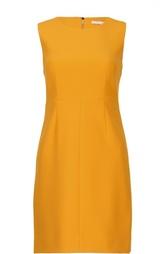 Приталенное мини-платье без рукавов с круглым вырезом Diane Von Furstenberg