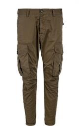 Хлопковые брюки карго Dsquared2