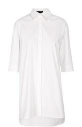 Удлиненная блуза прямого кроя с укороченным рукавом Alice + Olivia