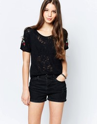 Свободная футболка Bellfield - Черный