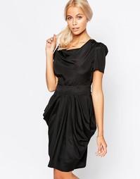 Платье с юбкой-тюльпан Jasmine - Черный