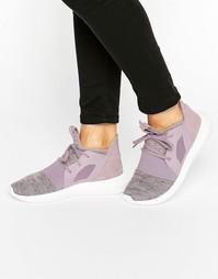 Фиолетовые кроссовки Adidas Originals Tubular Viral - Фиолетовый