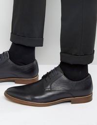 Черные кожаные дерби Aldo Agrude - Черный