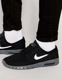 Черные кроссовки Nike SB Stefan Janoski Max 631303-009 - Черный