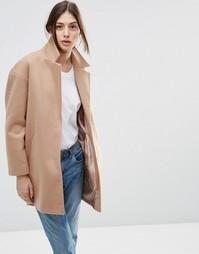 Пальто-кокон ASOS Ultimate - Кэмел