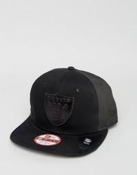 Бейсболка с тиснением New Era 9Fifty LA Raiders - Черный