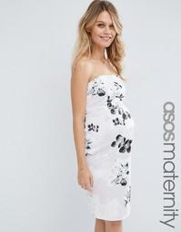 Платье-футляр для беременных ASOS Maternity - Мульти