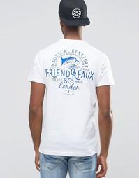 Футболка Friend or Faux - Белый
