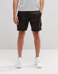 Узкие шорты чиносы G-Star Bronson - 976 темно-серый