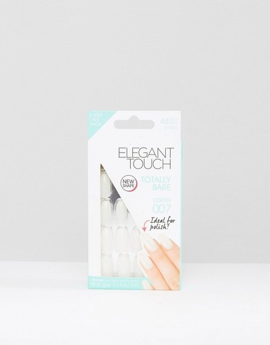 Накладные ногти Elegant Touch Totally Bare - Coffin