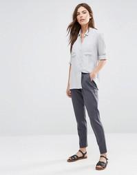 Прямые трикотажные брюки Vila - Ebony