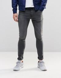 Супероблегающие серые джинсы ASOS - Серый