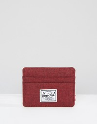 Визитница Herschel Supply Co Charlie - Красный