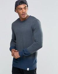 Nicce Dip Dye Knitted Jumper - Серый