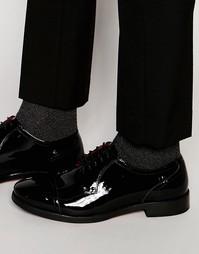 Кожаные туфли дерби Base London XXI Oscar - Черный
