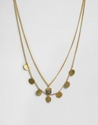 Ожерелье в два ряда Made - Золотой