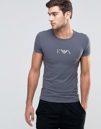 Эластичная футболка Emporio Armani - Серый