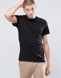 Черная футболка с одним карманом Element - Черный