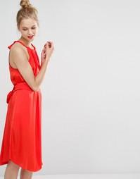 Платье-халтер с поясом BCBG Max Azria Britan - Tangiers