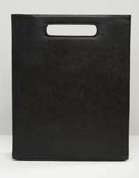Однотонная сумка-шоппер ASOS - Черный