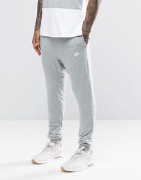 Серые джоггеры скинни Nike 804465-063 - Серый
