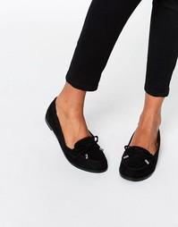 Туфли на плоской подошве ASOS MONTHLY - Черный