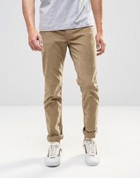 Бежевые вельветовые брюки слим с 5 карманами Levis 511 - Lead grey Levis®