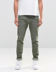 Зеленые джинсы скинни Diesel Tepphar 856Y - Green wash