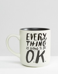 Кружка Everything Is Going To Be Ok - Мульти Gifts