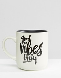Кружка Good Vibes Only - Мульти Gifts