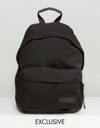 Эксклюзивный рюкзак с кожаным дном Eastpak Wyoming - Black matchy